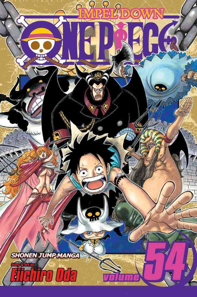 One Piece 54: Unstoppable (Paperback)