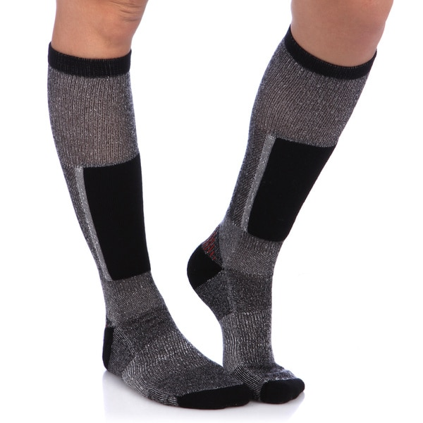 Smart Socks Black Cushioned Merino Wool Ski Socks (Pack of 3) 6216539
