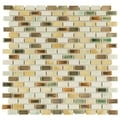 SomerTile 11.75x11.75-in Samoan Subway 0.5x1-in Springfield Porcelain Tile (Pack of 10)