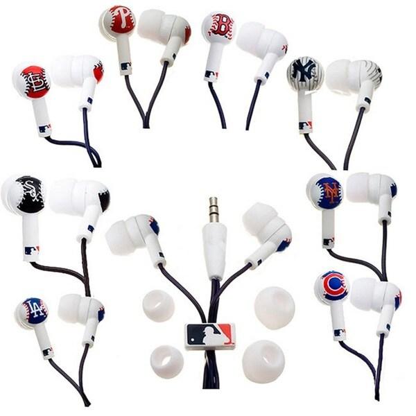 Nemo Digital MLB Team Baseball Earbud Headphones