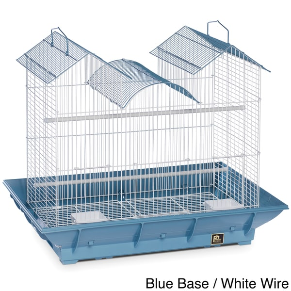 Prevue Pet Products Clean Life Triple Roof Cage for Small to Medium Birds