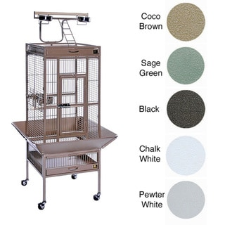 Prevue Pet Products Wrought Iron Select Easy Portable Bird Cage
