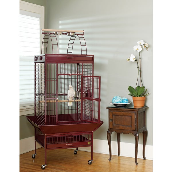 Prevue Pet Products Easy-to-move Wrought Iron Select Bird Cage