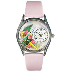 Whimsical Women's Dragonflies Theme Watch