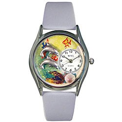 Whimsical Women's Dolphin Theme Watch