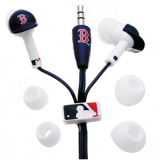 Nemo Digital MLF10114BS MLB Boston Red Sox Batting Helmet Headphones