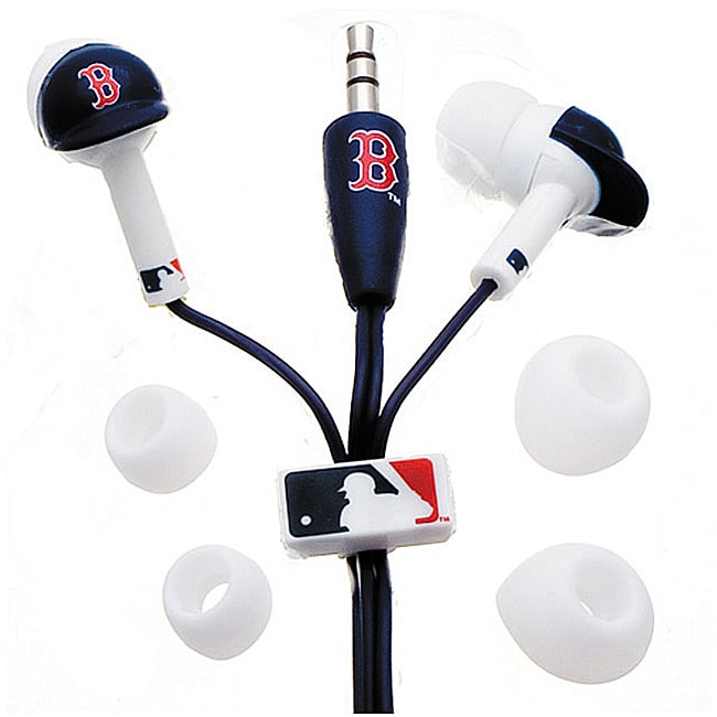 Nemo Digital MLF10114BS MLB Boston Red Sox Batting Helmet Headphones