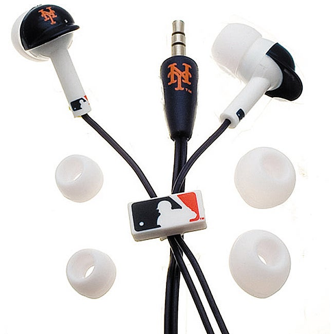 Nemo Digital MLF10114NYM MLB New York Mets Batting Helmet Headphones