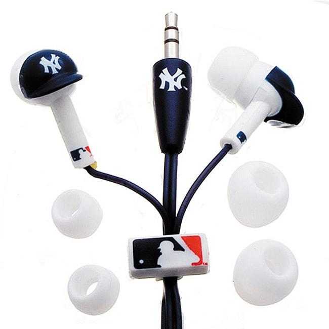 Nemo Digital MLF10114NYY MLB New York Yankees Helmet Headphones