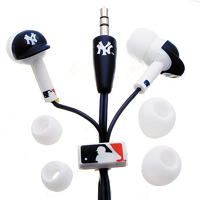 Nemo Digital MLF10114NYY MLB New York Yankees Helmet Headphones