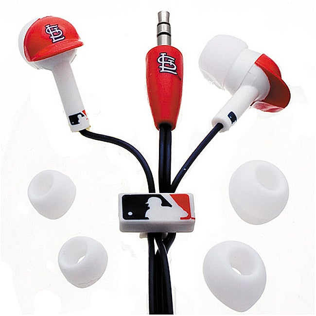 Nemo Digital MLF10114STL MLB St. Louis Cardinals Helmet Headphones