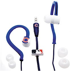 Nemo Digital MLF10115CHC MLB Chicago Cubs Jogger's Earphones