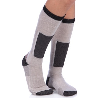 Smart Socks Cushioned Merino Wool Fog Ski Socks (Pack of 3 Pair)