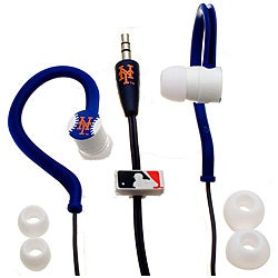 Nemo Digital MLF10115NYM MLB New York Mets Jogger's Earphones