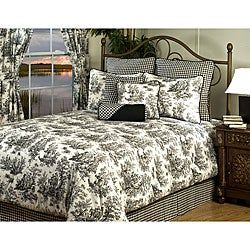 Plymouth Queen 9-piece Luxury Bedding Set | Overstock.com Shopping ...