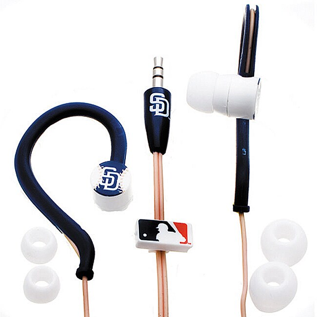 Nemo Digital MLB San Diego Padres Jogger's Earphones