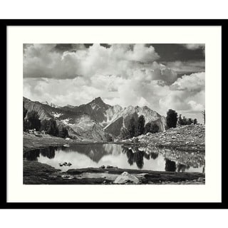 Ansel Adams 'Mount Clarence King, 1925' Framed Art Print