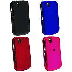 Eforcity Snap-on Rubber Coated Case for Blackberry Tour 9630