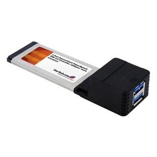 StarTech.com 2 Port ExpressCard SuperSpeed USB 3.0 Card Adapter with