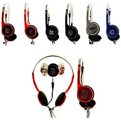 Nemo Digital MLB Baseball Overhead Headphones with Interchangeable Graphics