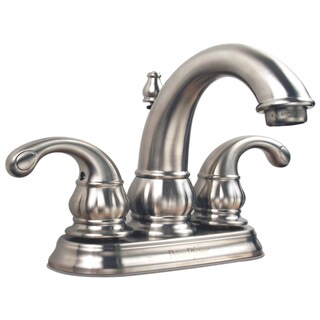 Price Pfister 4-inch Centerset Satin Nickel 2-handle Lavatory Faucet