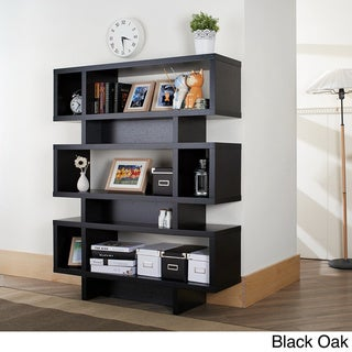 Furniture of America Tier Display Cabinet/ Bookcase