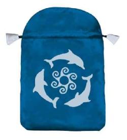 Dolphins Tarot Bag, Blue (Hardcover)