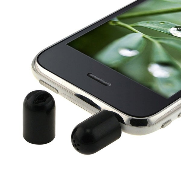INSTEN Mini Microphone Recorder for Apple iPod / iPhone 3G / 3GS
