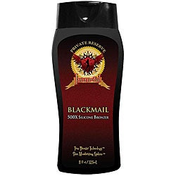 Blackmail 500X Tanning Lotion Bronzer (Private Reserve)