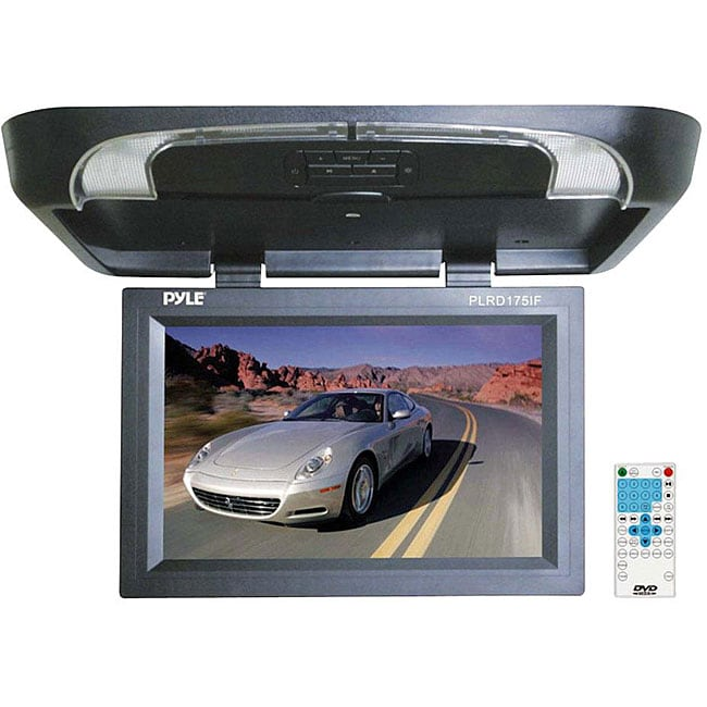 Pyle PLRD175IF 17-inch Flip Monitor and Built-in DVD Player