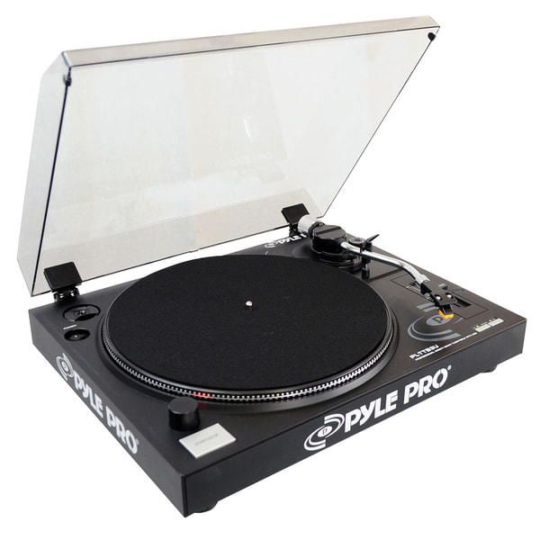 Pyle PLTTB3U Turntable with Recording and Digital Software