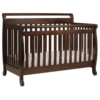 DaVinci Emily 4-in-1 Convertible Crib with Toddler Rail in Espresso