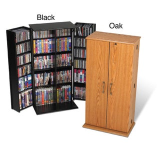 Tall Locking Media Storage Cabinet