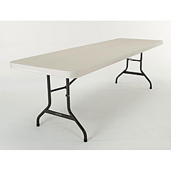 Lifetime 8-foot Almond Folding Banquet Tables (Pack of 4)