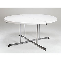 Lifetime 5-foot Round Fold-in-half Tables (Pack of 8)