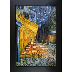 Van Gogh 'Cafe Terrace at Night' Oil Canvas