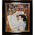 Gustav Klimt 'Mother and Child' Canvas Art