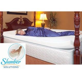 Slumber Solutions 3-inch Memory Foam Mattress Topper