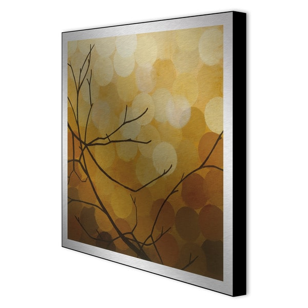 Sean Jacobs 'Autumn Shade II' Metal Art Print
