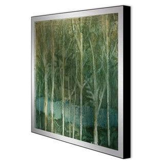 Caroline Ashton 'Imposed Environment II' Framed Metal Art