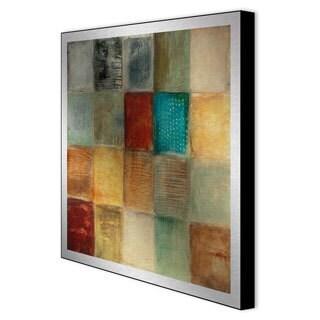 Bellows 'Balanced Sequence II' Framed Metal Artwork
