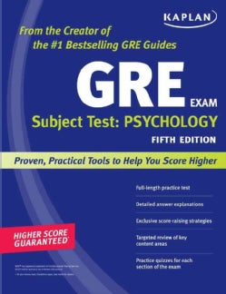Kaplan GRE Subject Test: Psychology (Paperback)