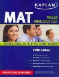 Kaplan MAT: Miller Analogies Test (Paperback)
