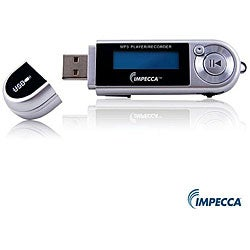 Impecca MP-1202 2GB Silver MP3 Player with FM Tuner