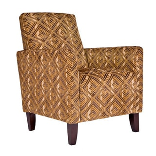 angelo:HOME Sutton Pecan Brown Arm Chair