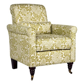 angelo:HOME Harlow Floral Lotus Green Arm Chair
