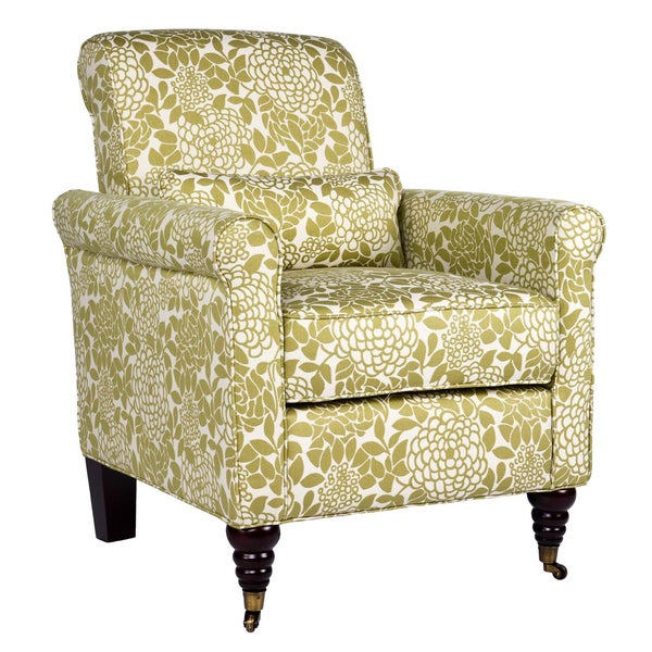 Angelo home harlow floral lotus green arm chair 12517162 shopping great Angelo home patio furniture