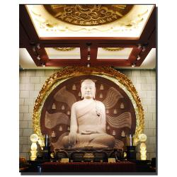 Kurt Shaffer 'Buddha' Gallery-wrapped Art