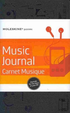 Moleskine Passions Music Journal/Carnet Musique (Notebook / blank book)