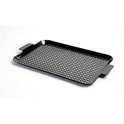 Black Porcelain-coated Medium Barbecue Grid